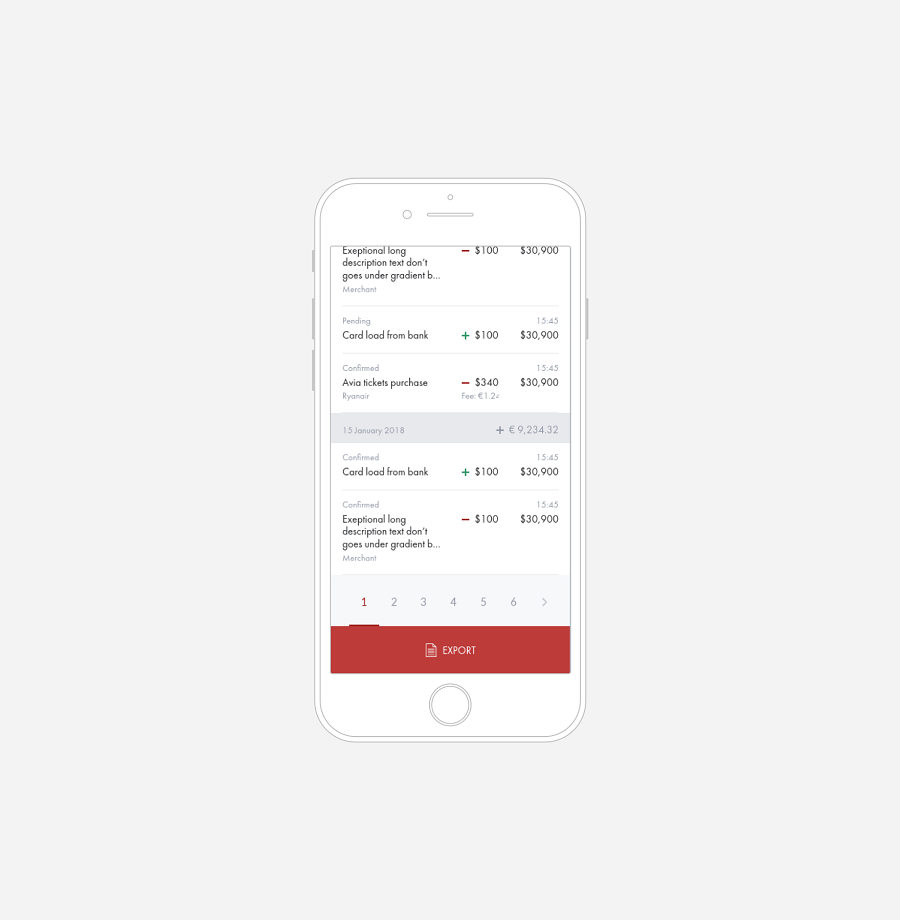 Payment system - Next Wallet